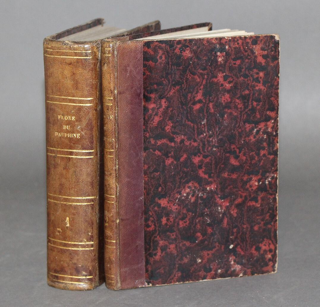 MUTEL.- Flore du Dauphiné, 1848-1849. Édition la plus complète.