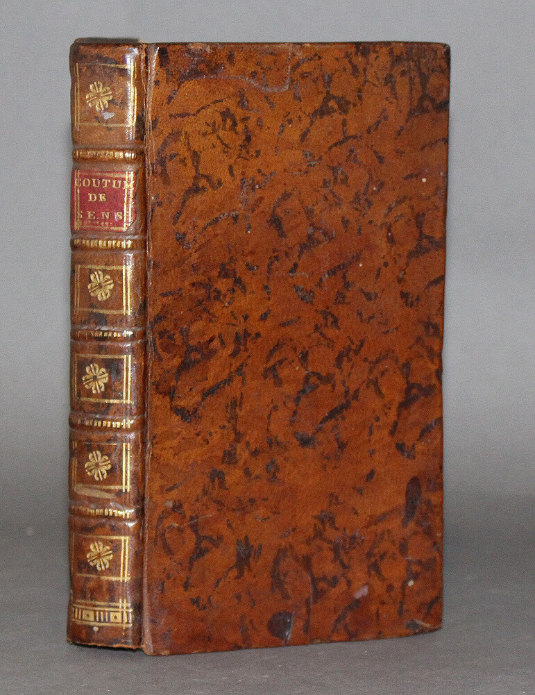 COUTUME. SENS, 1732.- Coustumes du bailliage de Sens et anciens ressorts d'iceluy.