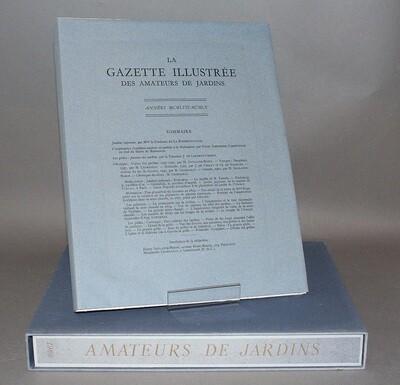 Gazette illustrée des Amateurs de Jardins. 1957-1960.