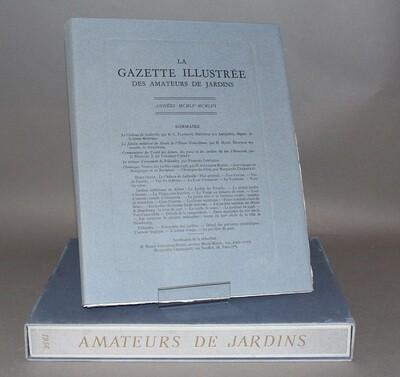 Gazette illustrée des Amateurs de Jardins. 1955-1956.