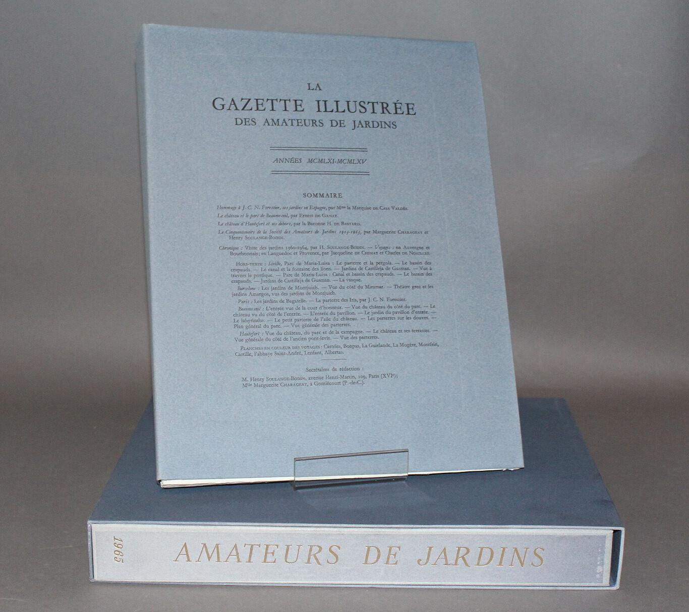 Gazette illustrée des Amateurs de Jardins. 1961-1965.