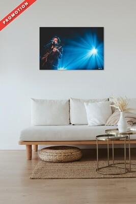 LIVE MUSIC // -M- MATTHIEU CHEDID (Finition brillante 60x40cm)
