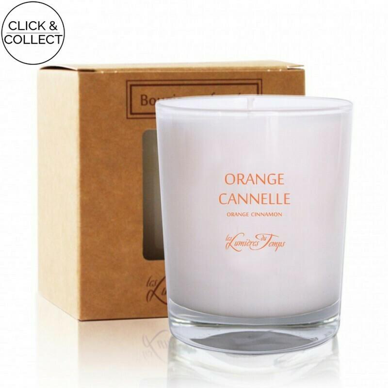 Bougie 180gr - orange / Cannelle