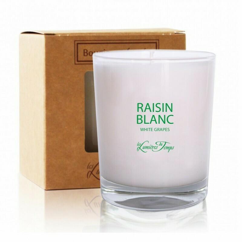 Bougie 180gr - Raisin blanc