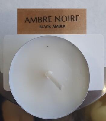 BOUGIE PARFUMEE  CHAUFFE PLAT: AMBRE NOIRE