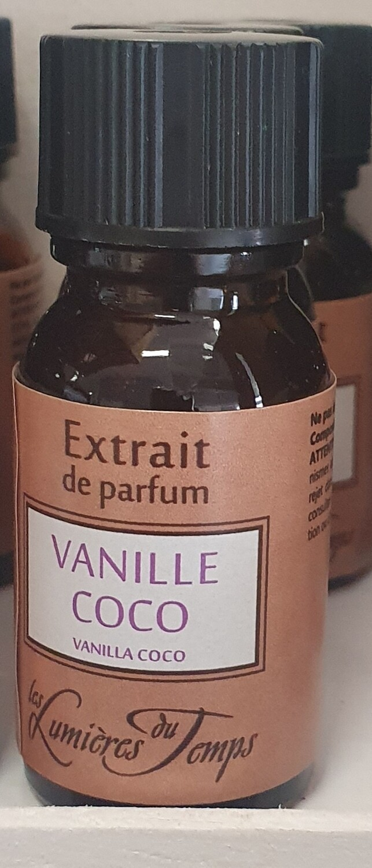 Extrait de parfum VANILLE/COCO