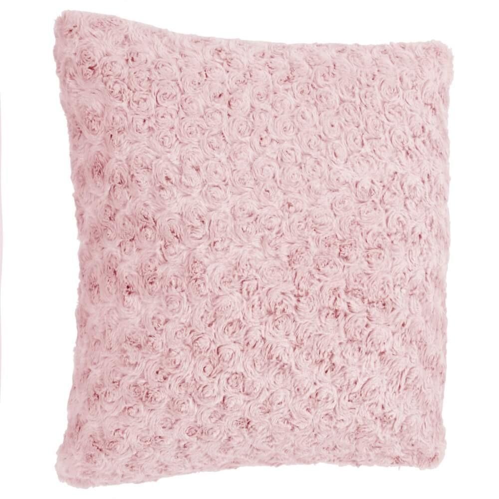 Coussin rose 45x45 cm