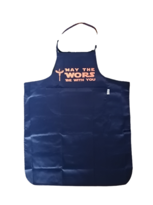 """""""May the WORS be with you"""" Apron"""