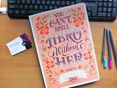 A6 Customised Notebook * Mother's Day