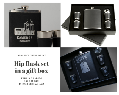 Hip Flask Set