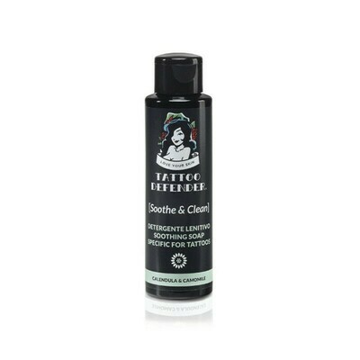 Tattoo Defender - Detergente lenitivo 100ml.