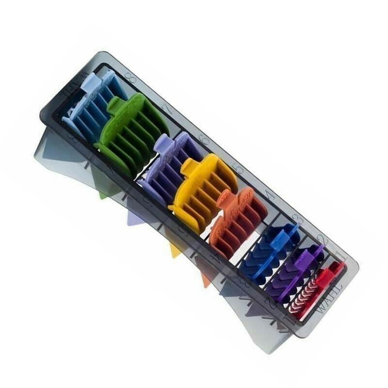 Wahl - Set 8 Rialzi Color per tagliacapelli Icon / Super Taper / Legend / Magic Clip