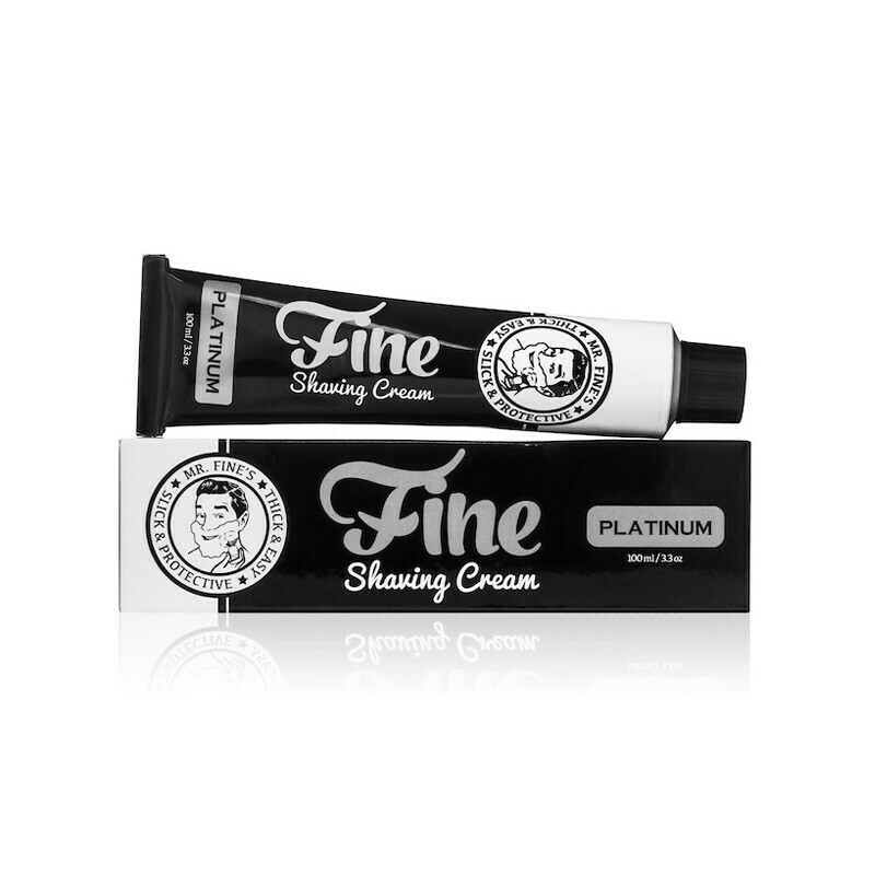 Fine Accoutrements - Crema da Rasatura Platinum ml 100