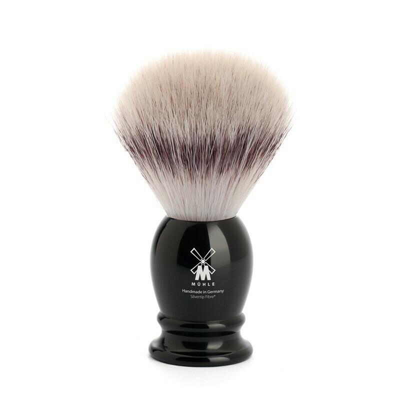 Muhle - Pennello da Barba in Fibra Sintetica Nero