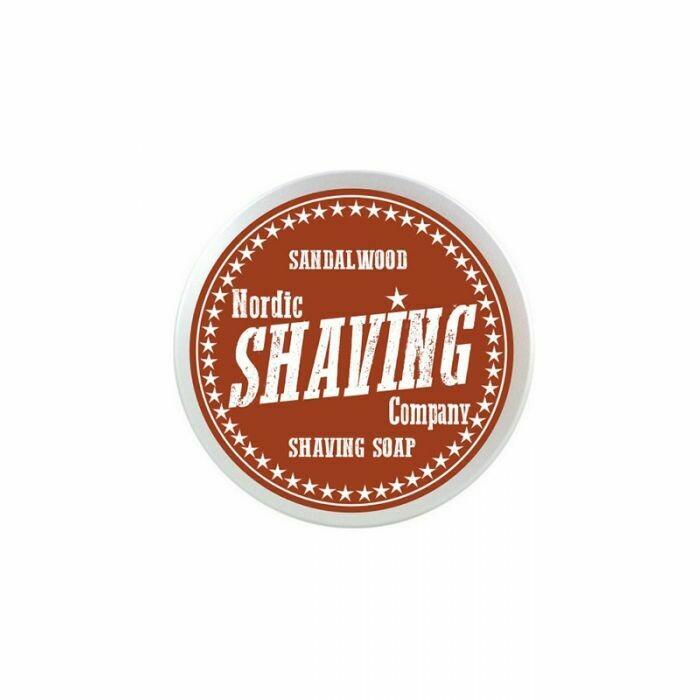 Nordic Shaving - Sapone da Rasatura Sandalwood Vegan gr 80