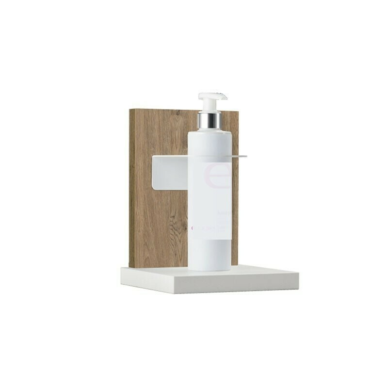Supporto da Banco Gel Igienizzante Wood