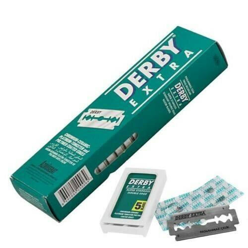 Derby Box 100 lamette da Barba