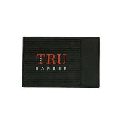 Tru Barber - Tappetino per Barbiere SMALL 34X23 BLACK