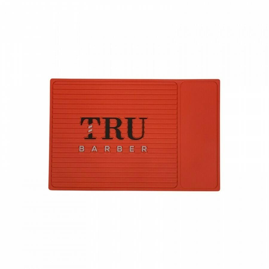 Tru Barber - Tappetino per Barbiere SMALL 34x23 RED
