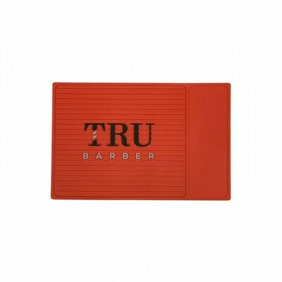 Tru Barber - Tappetino per Barbiere SMALL 34x23 RED