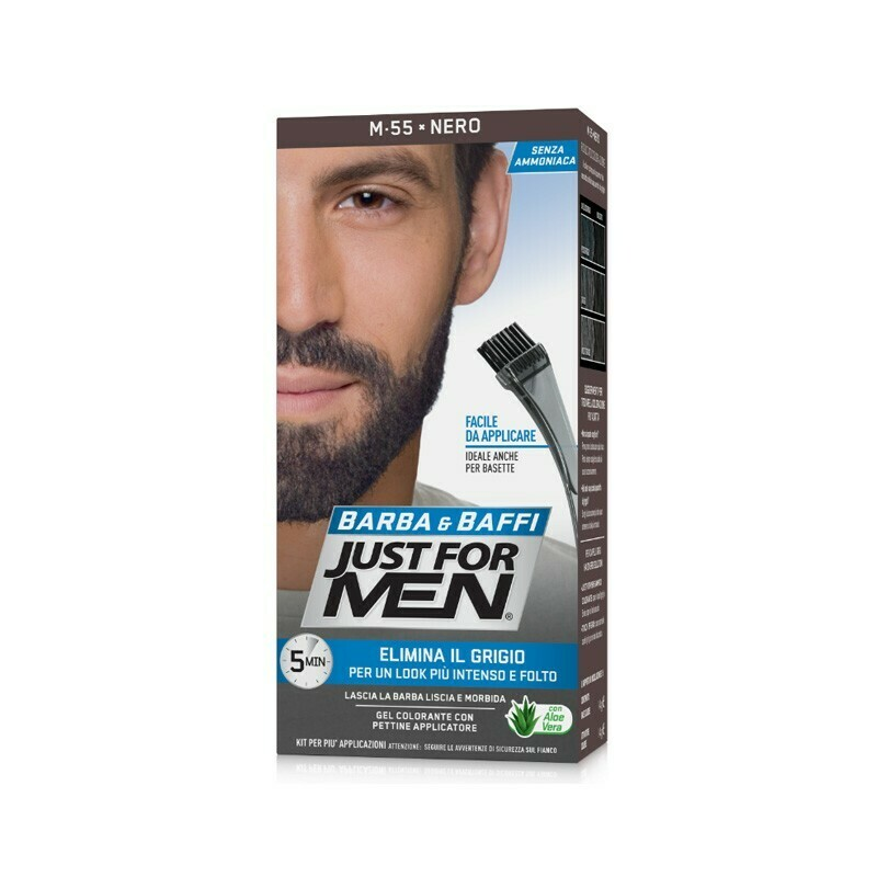 Just for Men - Gel Colorante Barba e Baffi Nero