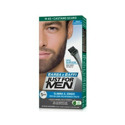 Just for Men - Gel Colorante Barba e Baffi Castano Scuro