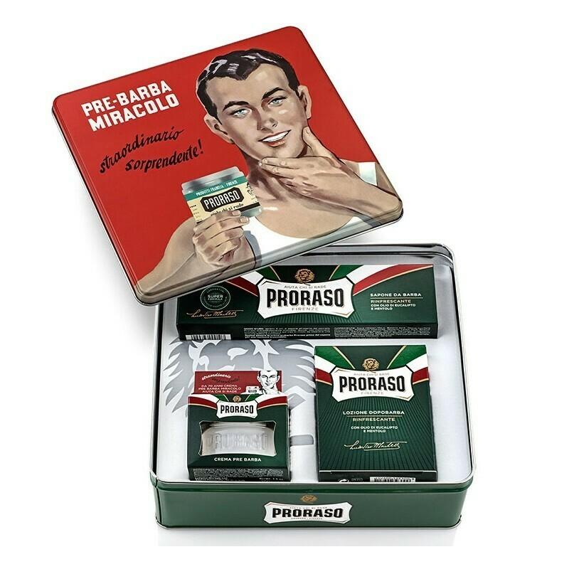 Proraso - Scatola regalo Vintage Gino linea Verde