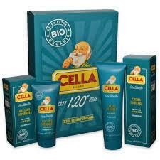 Cella - Kit Crema da Rasatura+Balsamo Dopobarba Bio