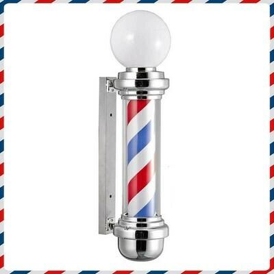 Barber Pole con Sfera Luminosa