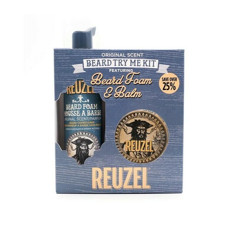 Reuzel - Kit Barba Wood And Spice Try Me
