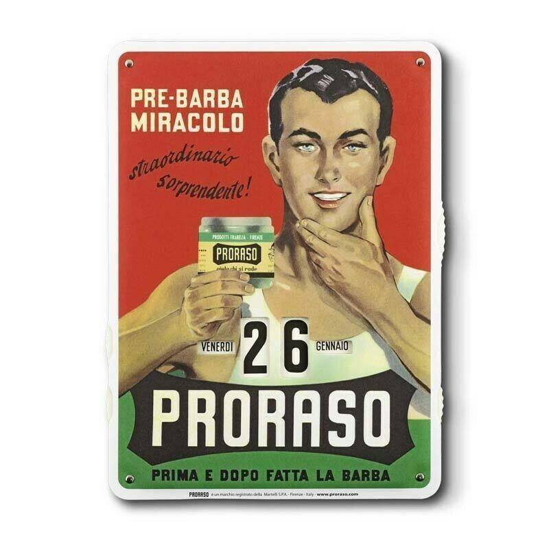 Proraso - Calendario Giornaliero Old Style