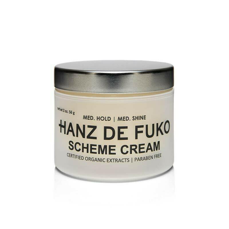 Hanz De Fuko - Scheme Cream - effetto Medio , Tenuta Media
