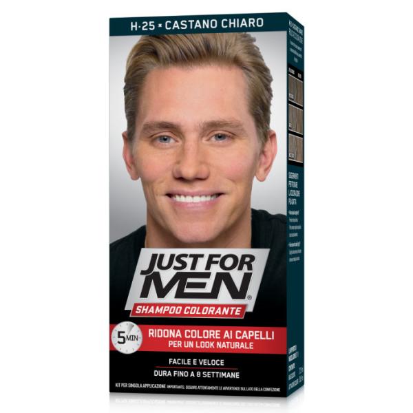 Just for Men -Shampoo Colorante Light Brown