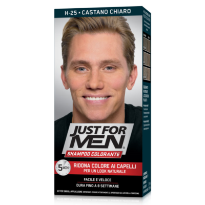 Just for Men -Shampoo Colorante Light Brown