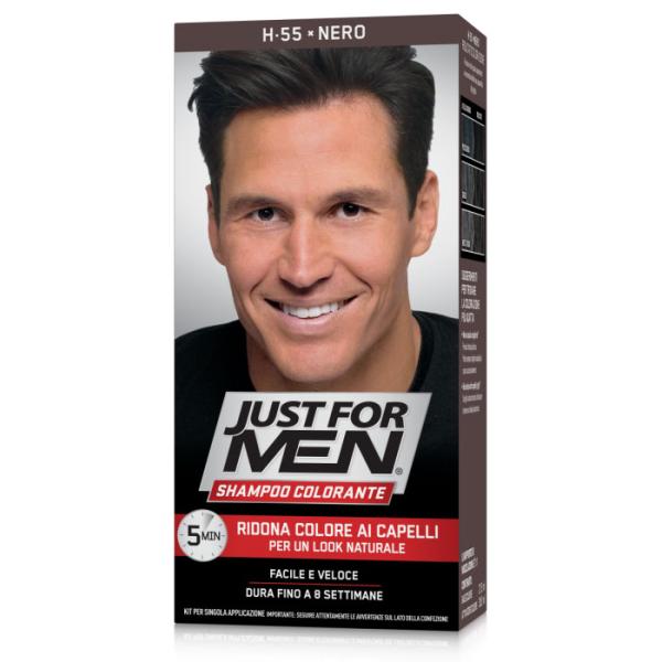 Just for Men - Shampoo Colorante Black