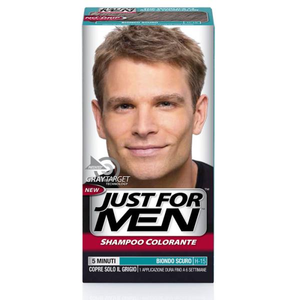 Just for Men - Shampoo Colorante Biondo Scuro