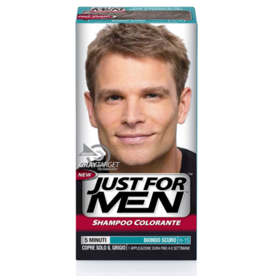 Just for Men - Shampoo Colorante Biondo Scuro