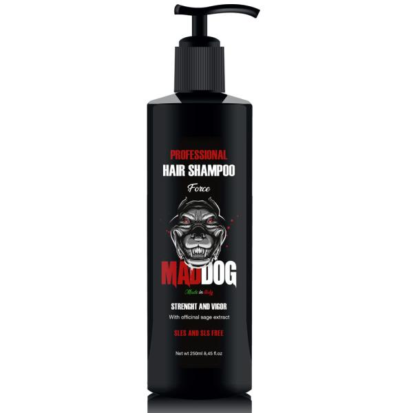 Mad Dog - Shampoo Professionale per Capelli Strenght and Vigor ml 250