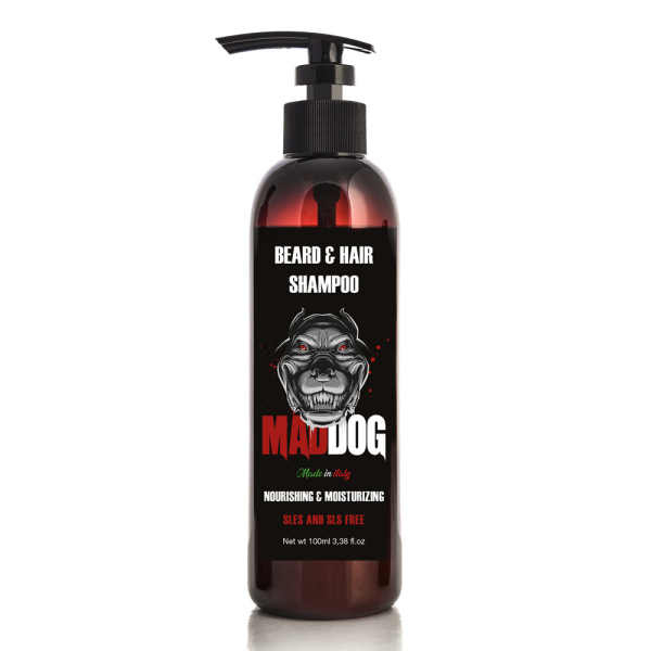 Mad Dog - Shampoo Barba e Capelli ml 100