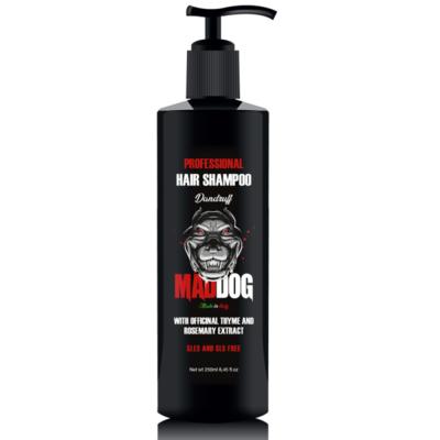 Mad Dog - Shampoo Professionale Dandruff con Timo e Rosmarino ml 250