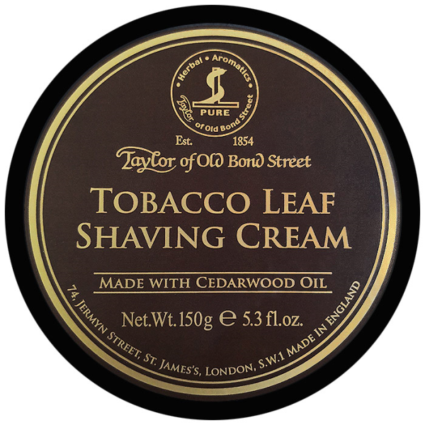 Taylor of Old Bond Street - Crema da Rasatura Tobacco Leaf