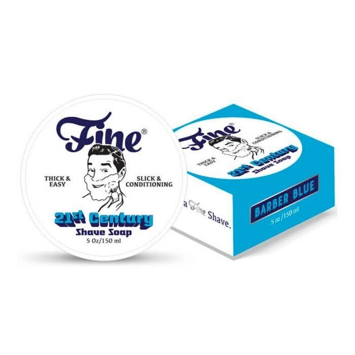 Fine Accoutrements - Sapone da Barba Barber Blue ml 150