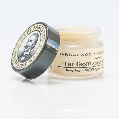 Capt Fawcett's - Cera per Baffi aroma Sandalwood 15ml.