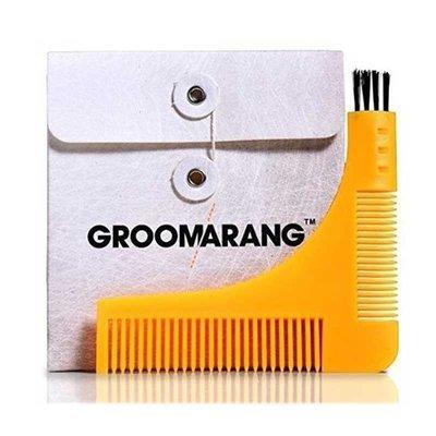 Groomarang - Pettine da Barba e per  contorno Barba