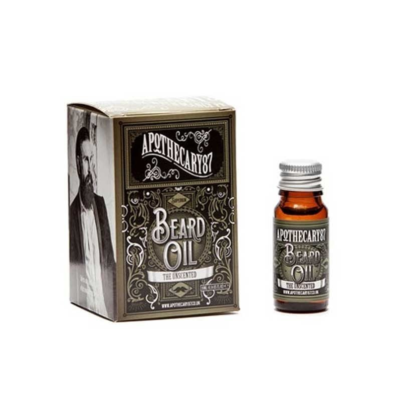 Apothecary87 - Olio da Barba The Unscented 10ml.
