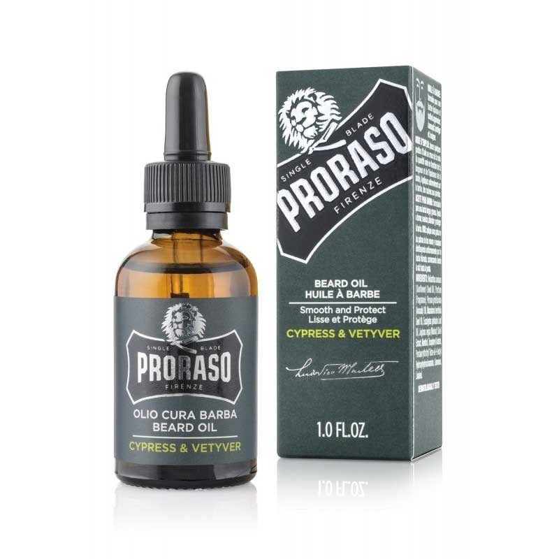 Proraso - Olio da barba Cypress and Vetyver