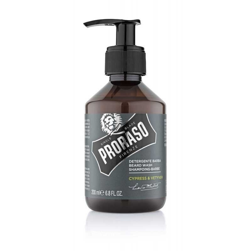 Proraso - Shampoo da barba Cypress and Vetyver 200ml.