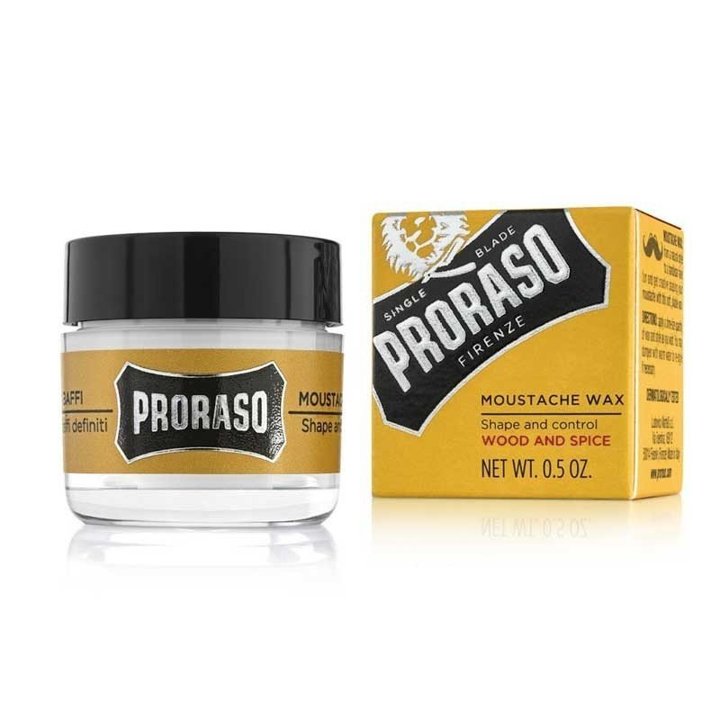 Proraso - Cera per baffi Wood and Spice 15ml.