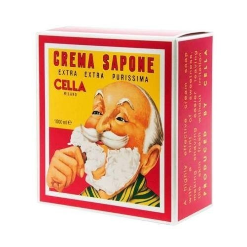 Cella - Sapone Crema per Barba 1kg.