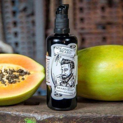 Solomon's Beard - Shampoo per barba Papaya e Cupacu
